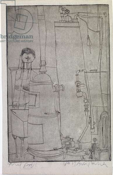 Heating System, c.1952 (etching)