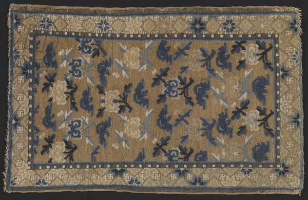 Rug, 1800 (wool & cotton)
