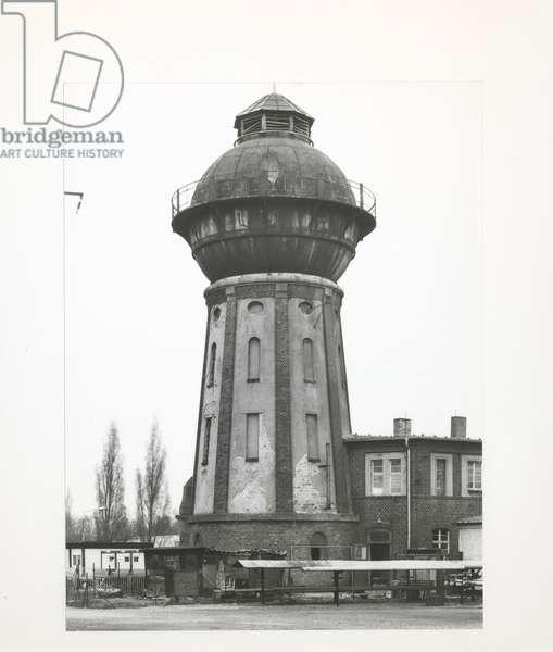 Watertowers, 1997 (b/w photo)