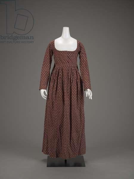 Dress, 1780s-90s (cotton)