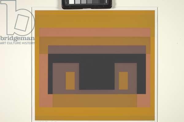 Variant Viii (screenprint on off-white wove paper)
