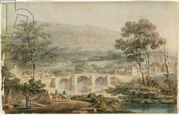 Matlock, 1794 (w/c over pencil on white wove paper)