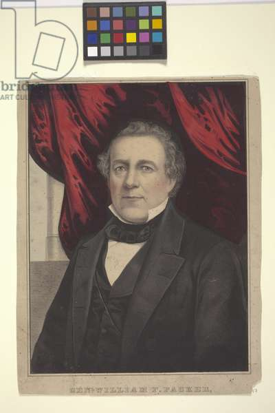 Genl. William F. Packer (hand-coloured lithograph)