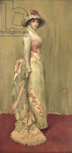 Harmony in Pink and Grey: Lady Meux, 1881 (oil on canvas)
