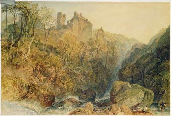 Roslin Castle, Midlothian (w/c & gouache on paper)