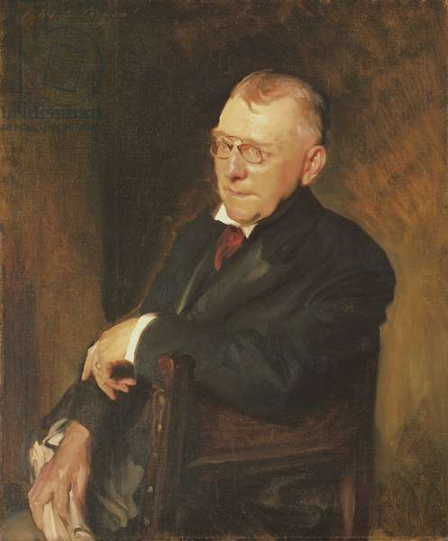 Portrait of James Whitcomb Riley, 1903 (oil on canvas)