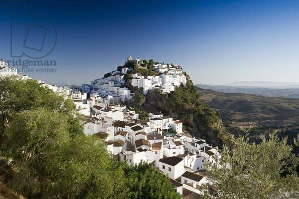 Casares, Costa del Sol, Andalusia, (Andalusia) Spain, Europe