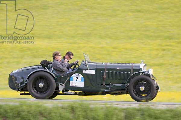 Bentley Derby Spezial 4 1/4 Litre, built 1935, Vintage Car Alpine Rally 2008, Kitzbuehel, Austria, Europe