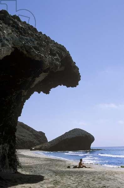 Playa de Monsul (Monsul Beach), Cabo de Gata, Andalusia (Andalusia), Spain