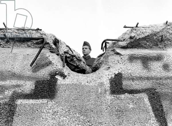 Fall of the Berlin Wall. Photography Sunday 12 November 1989.