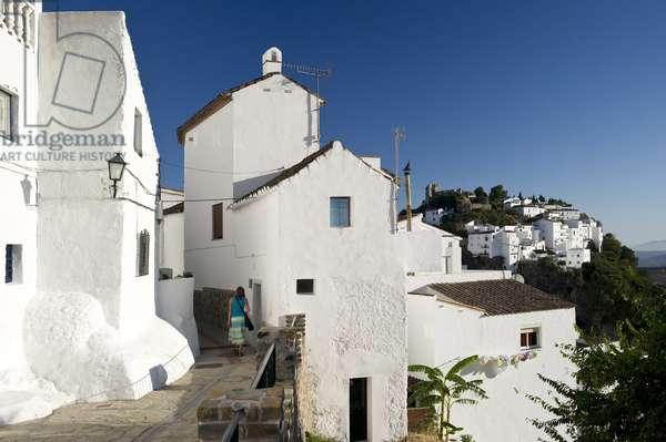Casares, near Estepona, Costa del Sol, Andalusia, (Andalusia) Spain, Europe