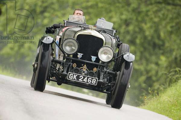 Bentley Speed Six Le Mans constructed in 1930, Ennstal Classic 2008, Austria, Europe