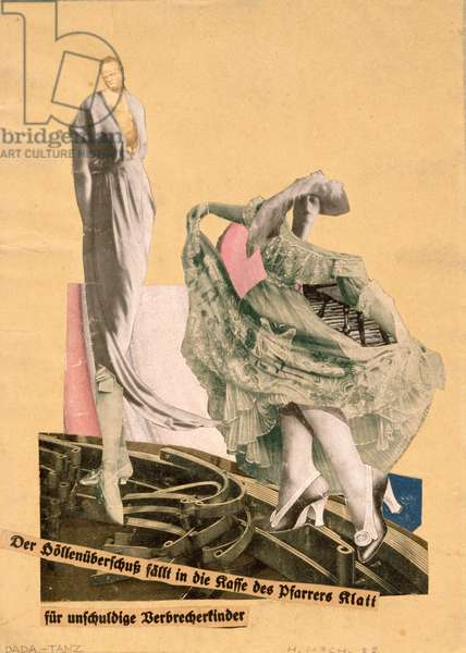 Dada Dance, 1922 (photomontage with collage on paper)