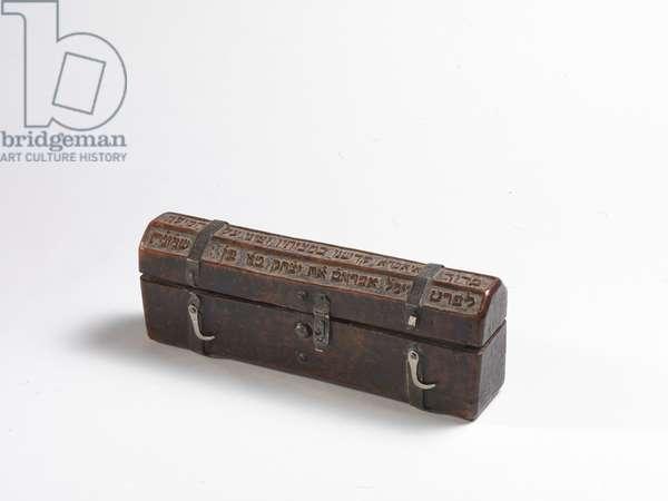Circumciser's box, 1663 (wood)