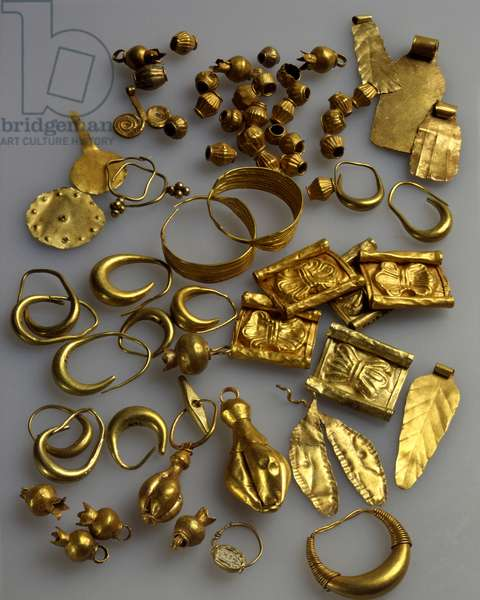 Jewellery, Late Canaanite Period (gold)
