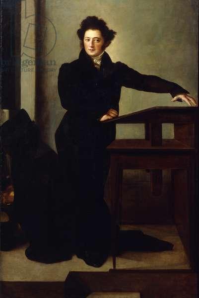 Portrait of Eduard Gans (1796-1839) 1829 (oil on canvas)