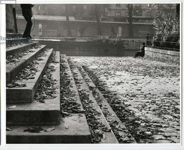 Square du Vert-Galant, Paris, 1963 (silver gelatin print)