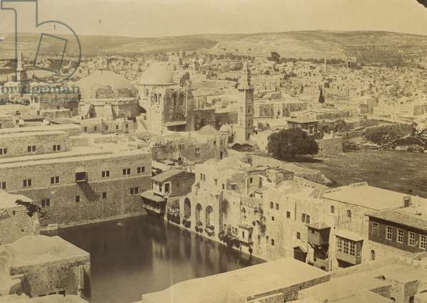 Pool of Hezekiah, 1855-57 (salt print)