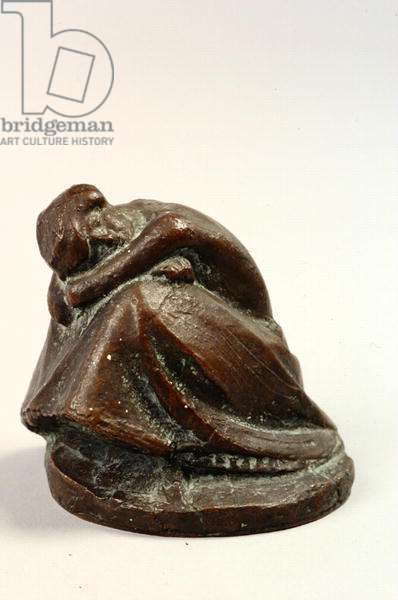 Crouching Woman, 1910 (bronze)