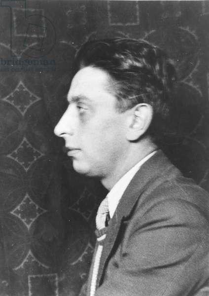 Portrait of Robert Desnos (1900-45) 1930 (gelatin silver print)