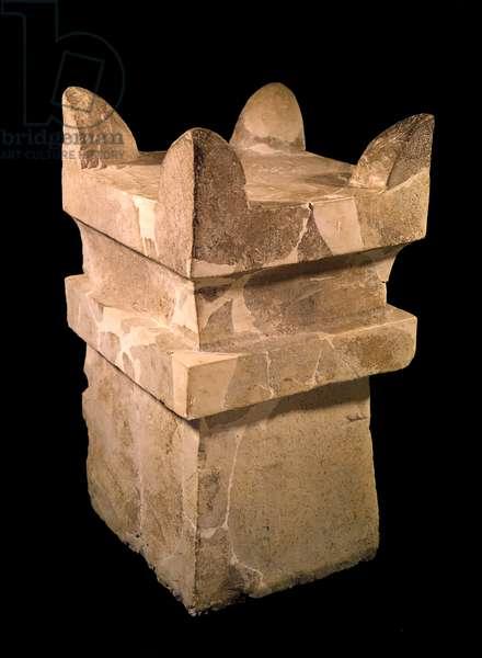 Incense altar, Meggido (limestone)