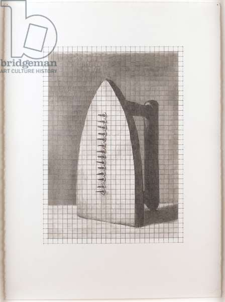 Man Ray's Gift, 1999 (graphite on paper)