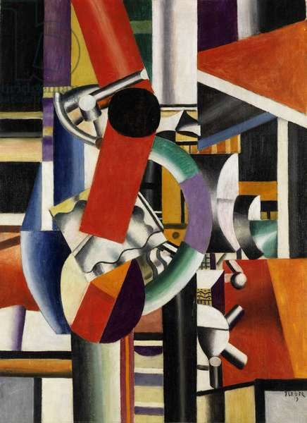 Still life, 1919 (oil on canvas)