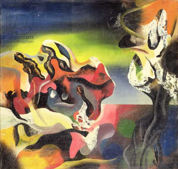 Untitled, 1942 (oil on canvas)