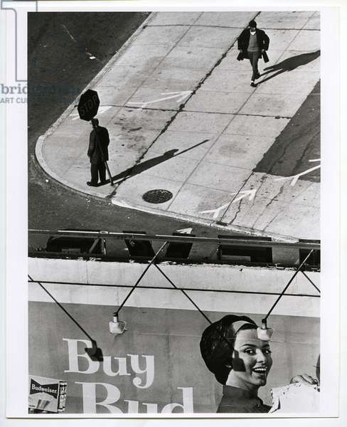 New York, 1962 (silver gelatin print)