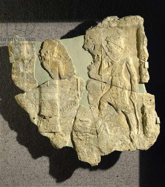 Rock relief of Iddin-Sin, King of Simurrum, Zagros mountains, Northeastern Iraq, c.2000 BC (limestone)