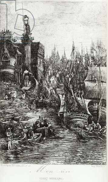 My Dream, 1883 (litho)