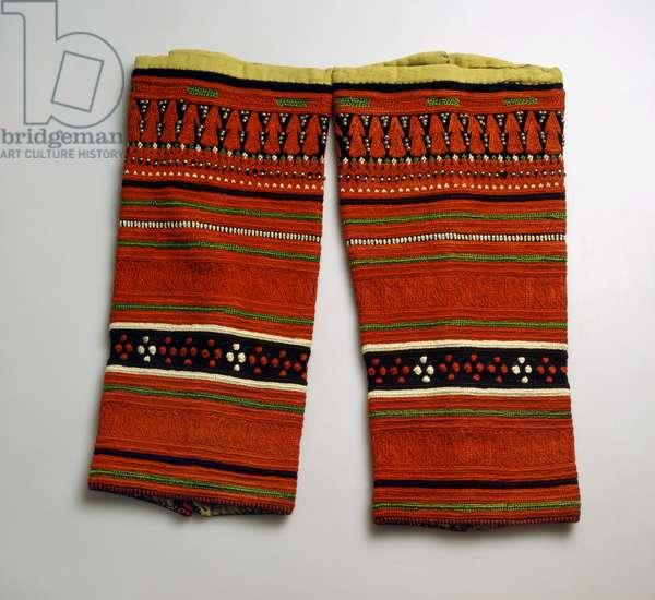 Leggings, San'a (textile)