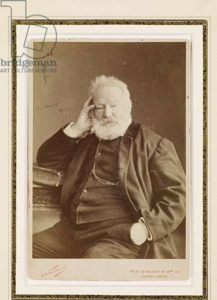 Victor Hugo, 1884 (albumen print)