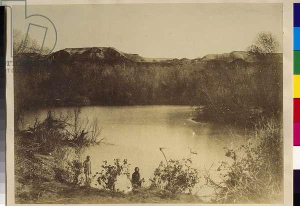 The Jordan, 1855-57 (salt print)