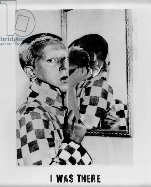I Was There #3 (Claude Cahun), 2001-05 (gelatin silver print)