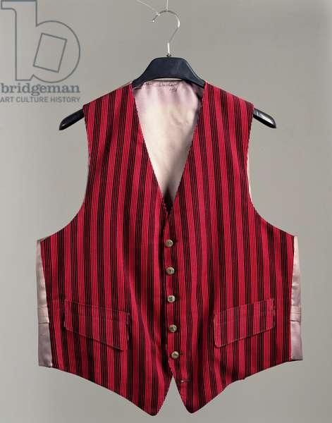 Waistcoat for Benjamin Peret, 1958 (cotton)