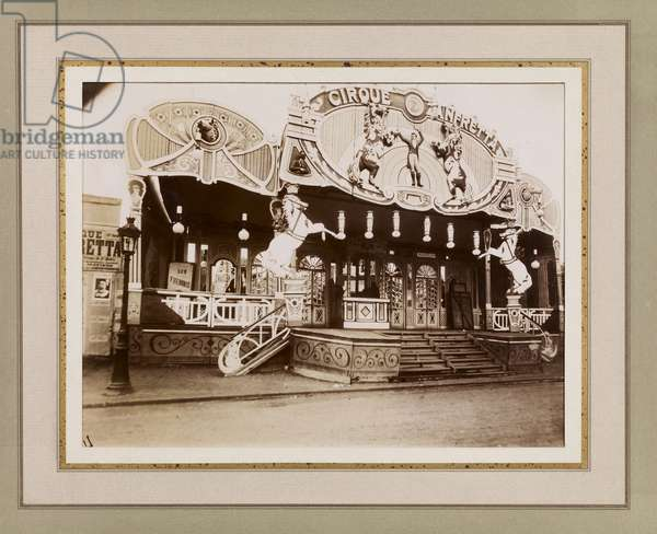 Fete de Vaugirard, c.1907 (b/w photo)