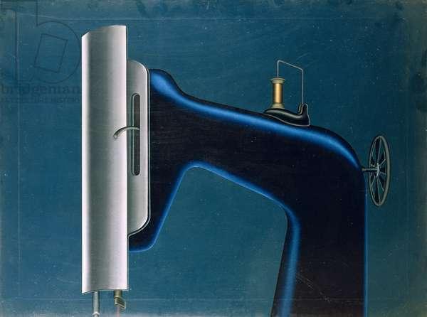 Cruel Night, 1959 (oil on canvas)