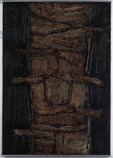Martyr, 1960 (oil on gesso)