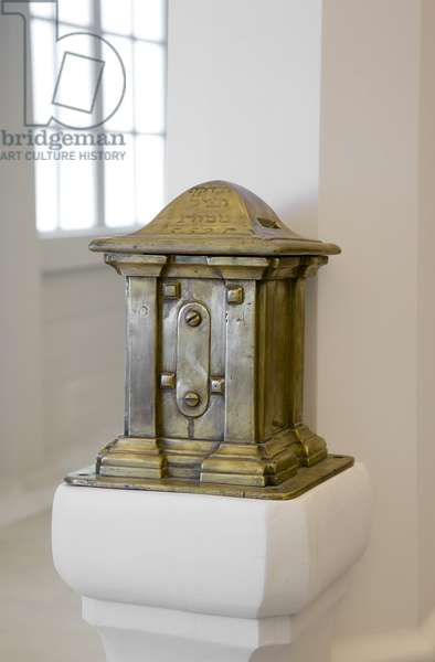 Donation box, c.1765 (brass)