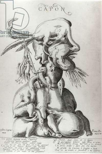 Capon, 1597 (engraving)