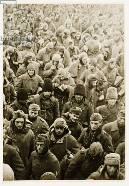 Captured German Soldiers, Stalingrad, 1944 (gelatin silver print)