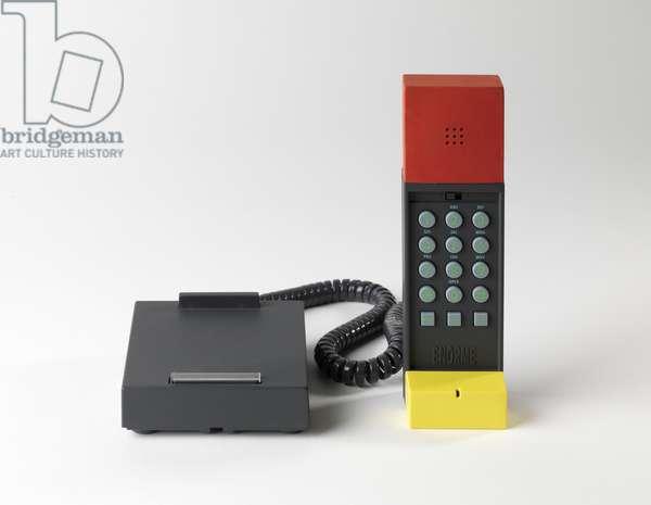 Enorme cordless telephone, 1984-87 (plastic & rubber)
