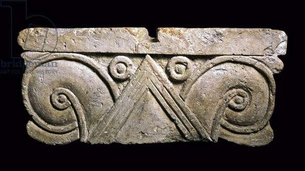 Royal Capital, Rahmat Rahel, Iron Age II (limestone)