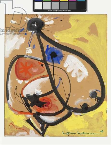 Untitled, 1943 (gouache & oil on Masonite)