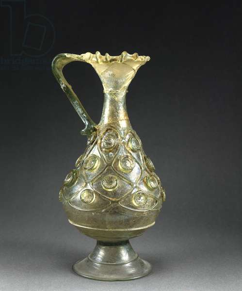 Jug (blown glass)