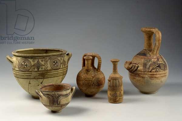Philistine pottery, Israelite Period (ceramic)