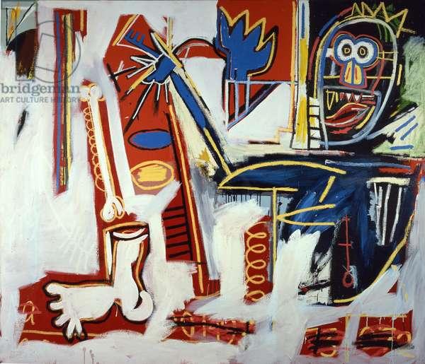 Agony of the Feet, 1982 (acrylic & oil on canvas)