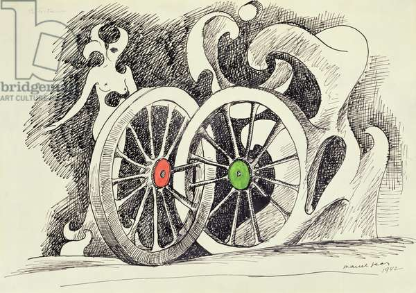 Fortune, 1942 (ink & w/c on paper)