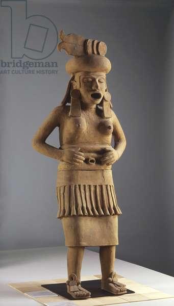 The Goddess Cihateoti, El Zapotal, Veracruz (clay)
